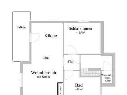 hochwertig neu sanierte Wohnung mit Balkon+Garten im familienfreundlichen Schönfels