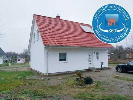 Ein Einfamilienhaus auf großem Grundstück in der Nähe der Altstadt von Wittstock