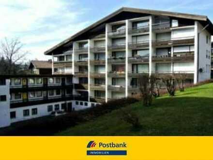 Kleines Appartement mit großem Balkon in Oberstaufen