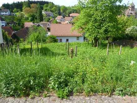 Günstiges und erschlossenes Grundstück in guter Wohn- und Südwestlage im Wasgaudorf Völkersweiler