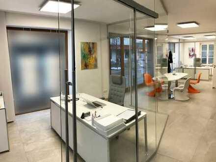 Lichtdurchflutetes Büro mit repräsentativer Schaufensterfront im Zentrum von Bad Aibling, ab sofort