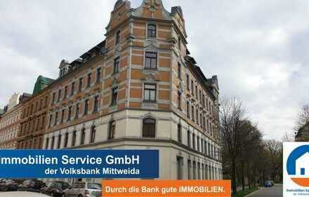Vermietete 3-Raum-Wohnung in zentraler Lage von Chemnitz! Für Kapitalanleger!