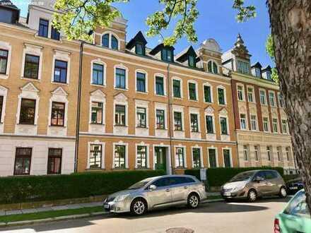 Helle 1-Wohnung in Gründerzeithaus am Kassberg in Chemnitz