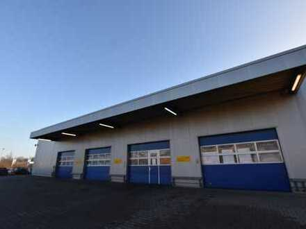 Gewerbehalle / Produktionshalle mit Bürofläche im Gewerbegebiet Klipphausen bei Dresden