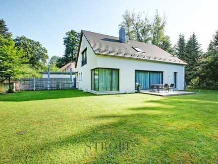 Erfüllung pur – Modernes Einfamilienhaus in Grünwald nahe Isarhochufer