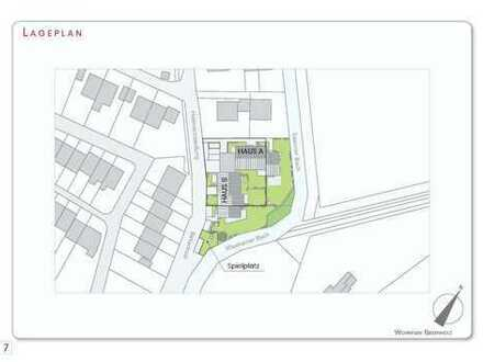 Provisionsfrei: Neubau, 3-Zimmer-Erdgeschosswohnung in Grafing b. München (S4)
