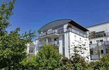 Top-Lage: ruhige 2-Zimmer-Single-Wohnung mit Sonnenbalkon im 2. OG. einer idyllischen Wohnanlage
