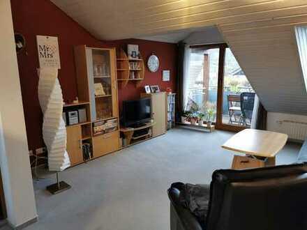 Gemütliche 3 Zimmer Wohnung mit herrlichem Ausblick