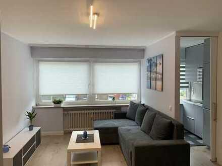 Erstbezug nach Sanierung / MÖBLIERTE 1-Zimmer-Wohnung in Düsseldorf Heerdt