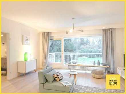 Voll möblierte 3-Zimmerwohnung mit Terrasse und Blick ins Grüne in Othmarschen (inkl. WLAN)
