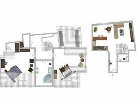 Einmalige Maisonettewohnung in Toplage