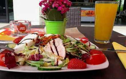 Café, Bar, Restaurant-Teilküche und Außenterrasse Ablöse für Inventar 55.000€ (Privat)