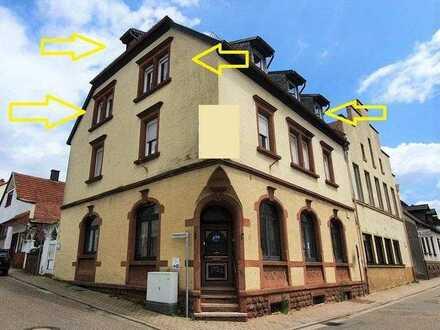 +++ Sofort verfügbar! Stadtzentrum Rodalben: Maisonette im 2.OG mit 4 Zimmer, Küche, Bad, Erweite...