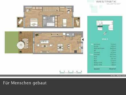 Feinste 3-Zimmerwohnung in absolut ruhiger Lage und perfekter Infrastruktur