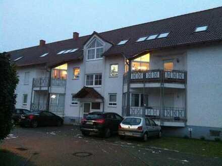 Gepflegte 2-Zimmer-DG-Wohnung mit Balkon in Ludwigshafen am Rhein