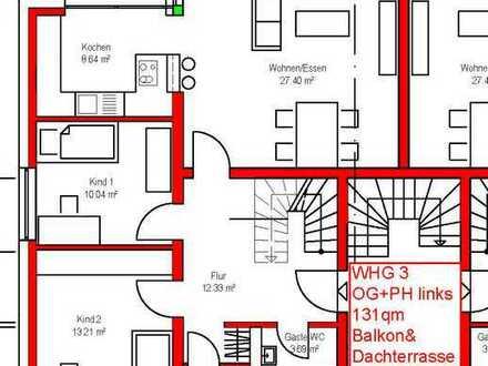 Maisonette Penthousetraum mit 4 Zimmer und rießiger Dachterrasse