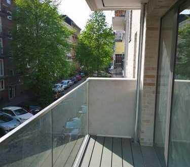 Neubau im schönen Eimsbüttel! Helle und zentral gelegene 3-Zimmer-Wohnung mit 2 Balkonen.