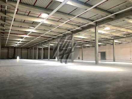 SOFORT VERFÜGBAR ✓ NÄHE BAB ✓ Lagerflächen (4.200 m²) & Büro-/Serviceflächen (800 m²) zu verkaufen
