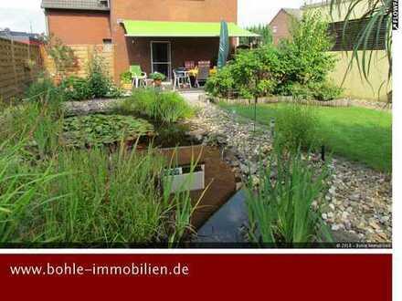 Wohnen in 1. Kanalreihe im Erdgeschoss mit eigenem Garten und großer Garage!!!
