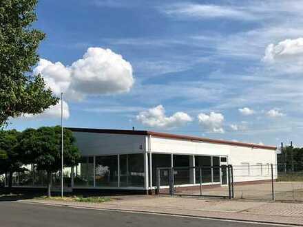 Ausstellungshalle, Lagerhalle, Bürogebäude - vielseitig nutzbar