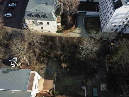 Graphisches Viertel! Unbebautes Grundstück für individuelles Wohnen - Innenstadtlage ruhig und grün