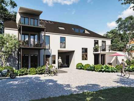 2-Zimmer-Wohnung mit Garten und offenem Wohn-Ess-Bereich