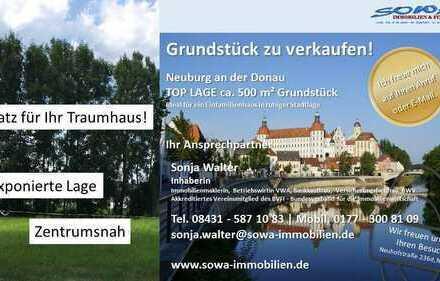 Bauplatz für Ihr Traumhaus in exponierter Stadtlage - Von ihrem Immobilienpartner SOWA Immobilien...