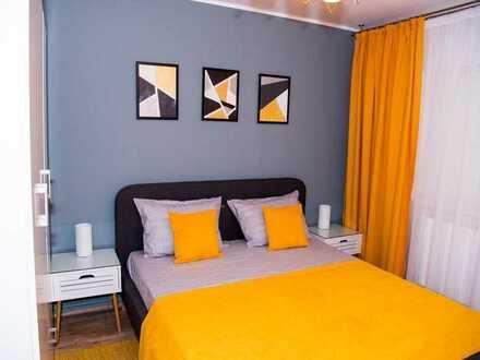 Sanierte 2-Raum-Wohnung mit Balkon und Einbauküche in Pfalzgrafenweiler