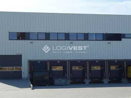 !! Projektierter Neubau einer Lager- und Logistikhalle an der A7 !!