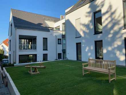 Erstbezug: hochwertig ausgestattete 5-Zimmer-Wohnung mit eigenem Garten in Freiberg am Neckar