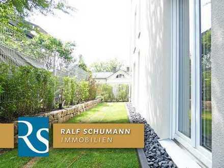 Modernes Wohnen in Luxus-Ausstattung, eigener Gartenbereich, PKW-Stellplatz + Natur vor der Haustür!