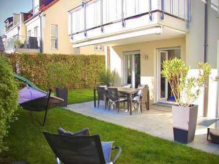 Exklusive 5-Zimmer Wohnung mit Garten in Alt-Solln, München (auch möbliert möglich)