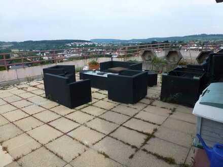 Appartement mit Dachterrassenfernsicht