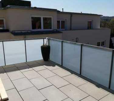 2 Zimmer Penthouse Wohnung mit großer Dachterrasse, Ilsfeld