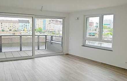 Skylineblick nach Frankfurt - Moderne, elegante 4-Zimmerwohnungen