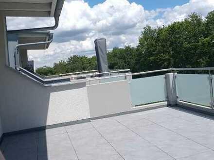 Exklusive 6 ZKB Maisonette Wohnung mit West-Terrasse
