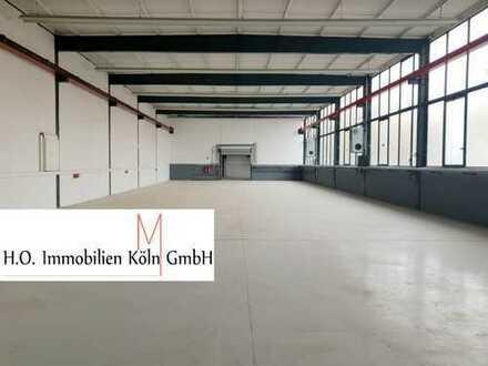 moderne Hallen-, Lager- und Werkstattflächen mit Büro, Rampe und Kran