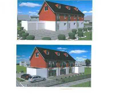 Neubau Reihenmittelhaus und Reiheneckhaus in Cham