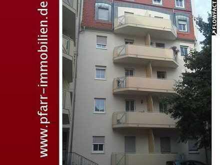 Dresden - Friedrichstadt - Attraktive 1-Raum-Wohnung mit Laminat und Balkon!
