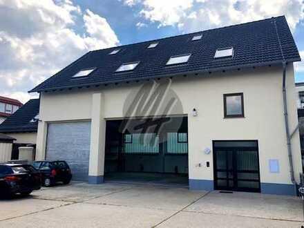 KEINE PROVISION ✓ SOFORT VERFÜGBAR ✓ Lager-/Werkstatt (120 m²) & Büro (260 m²) zu vermieten