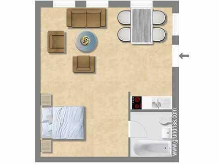 1,5 Zi.-Appartement mit separatem Zugang mitten im Ortskern