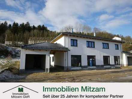 Neubau/Erstbezug: Doppelhaushälfte mit Garage und gehobener Ausstattung in ruhiger Wohnlage