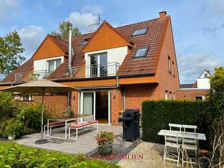 """Eine echte """"Immobilien-Perle""""!! DHH mit Traum-Garten in bester Wohnlage von MS-Angelmodde!"""