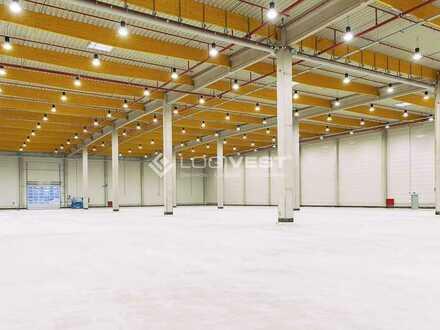 Neubau einer Logistikhalle mit Sozialfläche in Peiting