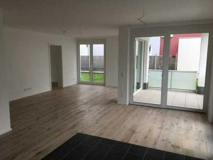 Erstbezug: exklusive 3-Zimmer-EG-Wohnung mit überdachtem Balkon in Gengenbach