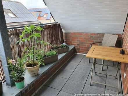 Gemütliche 2-Zimmer Wohnung mit Balkon im Stadtzentrum von Ochtrup!