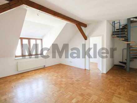 Charmanter Maisonette-Traum für Sonnenanbeter: Komfortable 3-Zi.-ETW mit Balkon in Toplage
