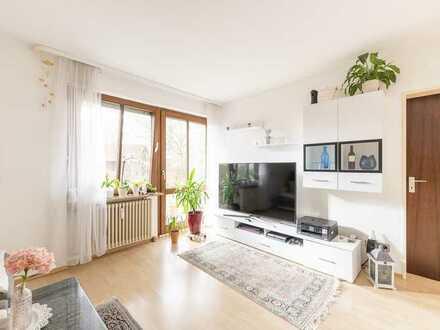 Attraktive 2 Zimmer Wohnung mit Westterrasse - zentral in Germering