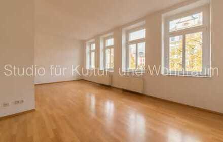 SfKW - Ab sofort - 49m2 - Parkett - Fensterfront - hohe Räume - Flügeltür - Duschbad - Etagenwohnung
