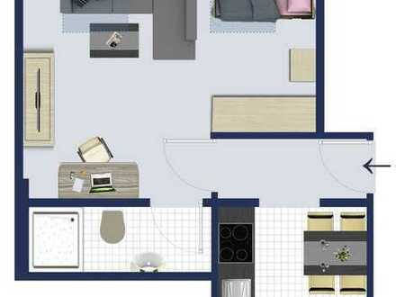 Modernes Apartment mit EBK direkt an den Wallanlagen: Contrescarpe